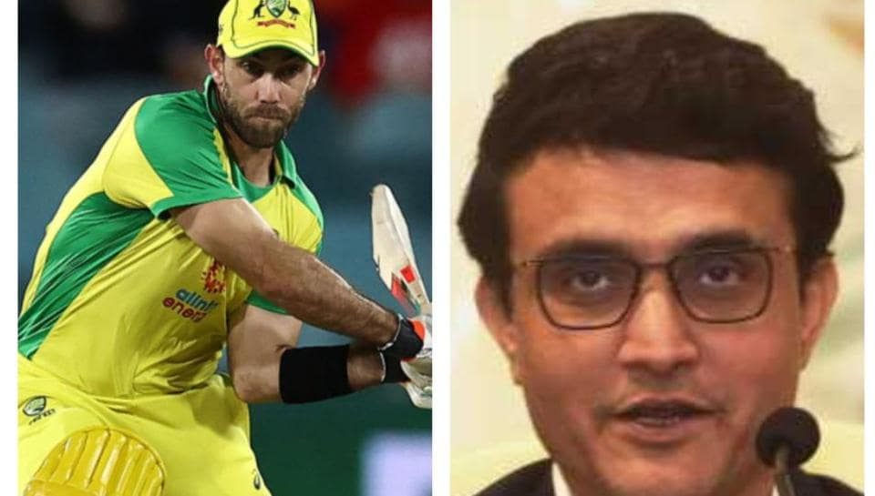 Glenn Maxwell switch-hit debate:BCCIPresident Sourav Ganguly has his say on 'controversial' cricket shot