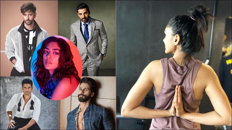 Mrunal Thakur shares fitness mantra learned from co-stars John Abraham, Hrithik Roshan, Shahid Kapoor and Farhan Akhtar
