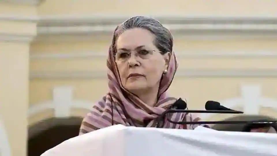 Congress chief Sonia Gandhi (PTI file photo)