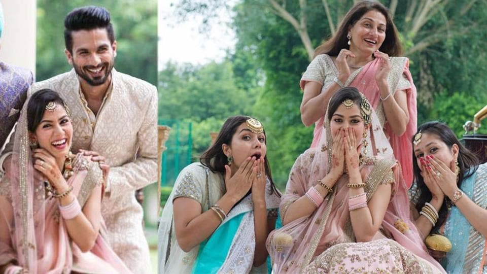 Shahid Kapoor's spouse Mira Rajput shares unseen picture from marriage ceremony, jokes '50 folks earlier than it was a rule' – bollywood