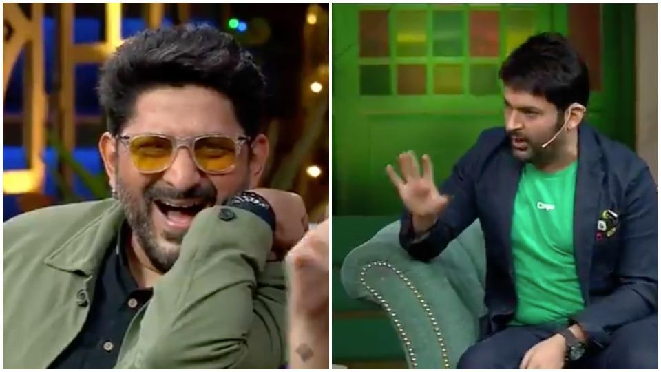 Arshad Warsi cracked up at Kapil Sharma's joke