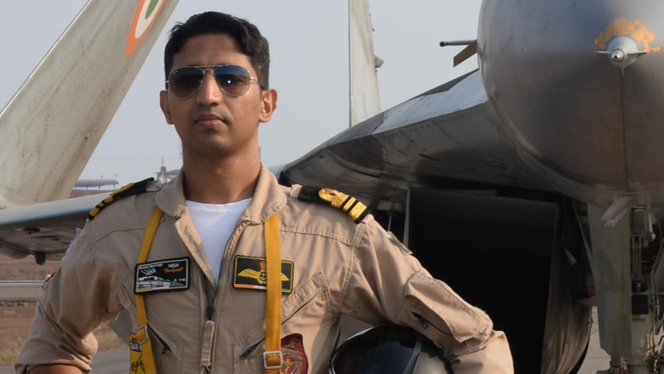 Commander Nishant, was a qualified flying instructor  and an ace fighter pilot with the Indian Navy