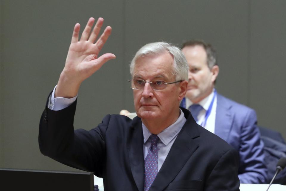 EU chief negotiator Barnier still sees hope to clinch Brexit trade deal