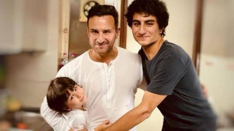 Kareena Kapoor posts adorable picture of Saif Ali Khan with sons Taimur and Ibrahim, calls them her... - Hindustan Times