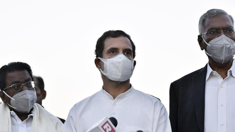 The parliamentary panel on defence wasted time discussing the uniform of the soldiers,  Rahul Gandhi said. ( File Photo)