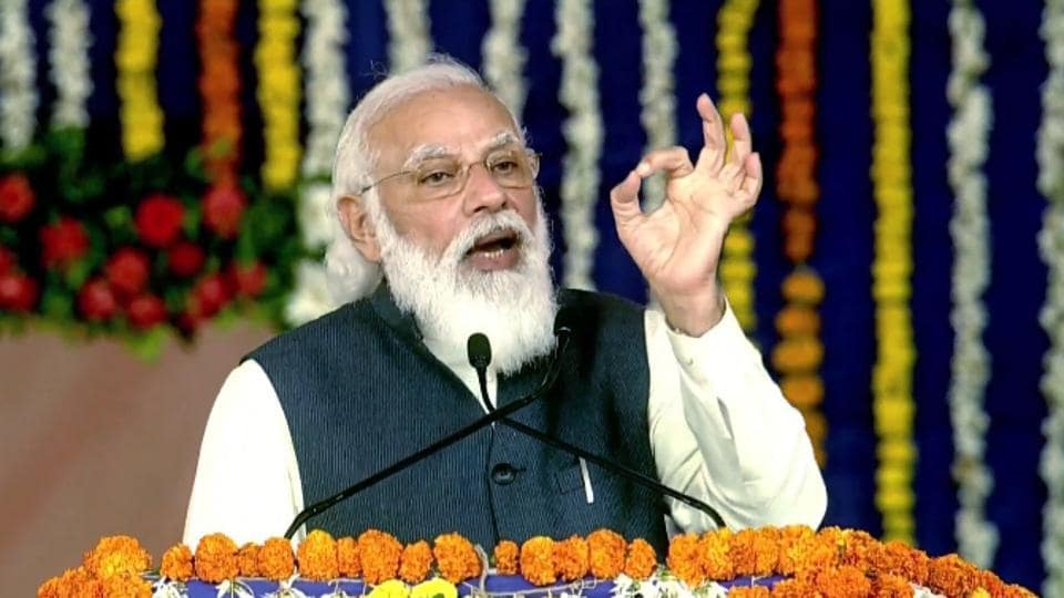 Prime Minister Narendra Modi will address the Madhya Pradesh farmers conference on Friday via video conference.  (File photo)