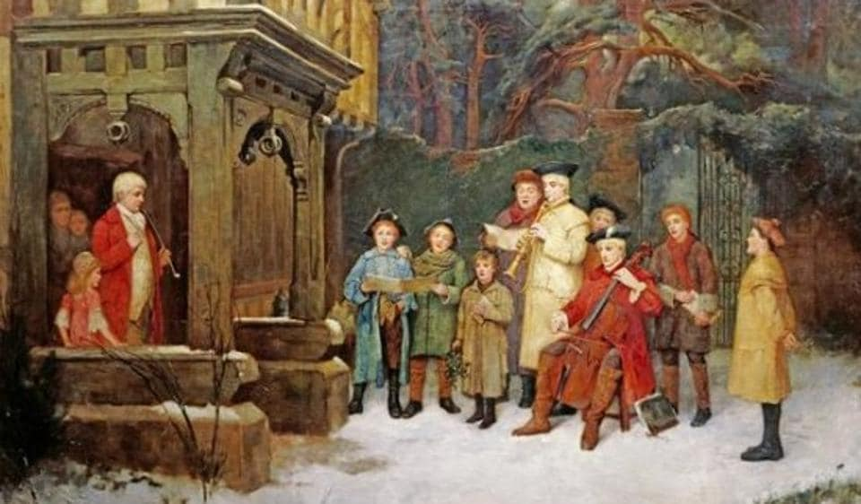 Surprise, all ye faithful! The odd history of Christmas carols – art and culture – Hindustan Times