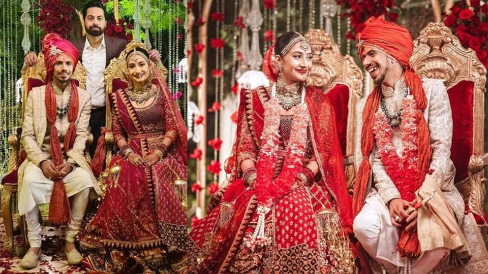 Yuzvendra Chahal Marries Choreographer Dhanashree Verma in Gurugram
