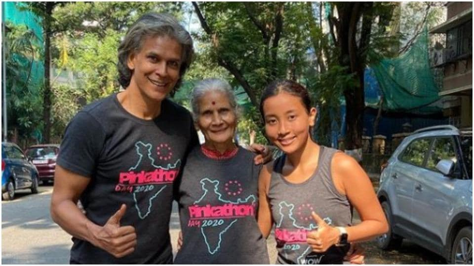 Ankita Konwar shares 81-year-old mother-in-law's fitness video, calls her Wonder Woman
