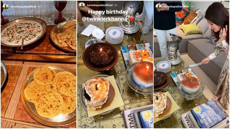 Twinkle Khanna birthday food