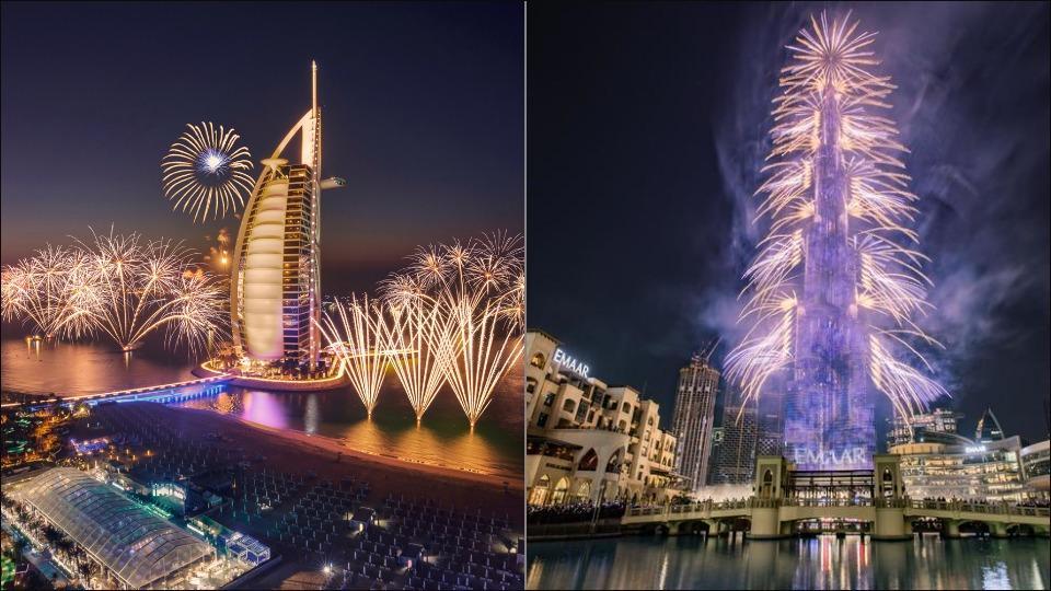 Watch LIVE celebrations of NYE at Dubai's Burj Khalifa and latest travel advisory here