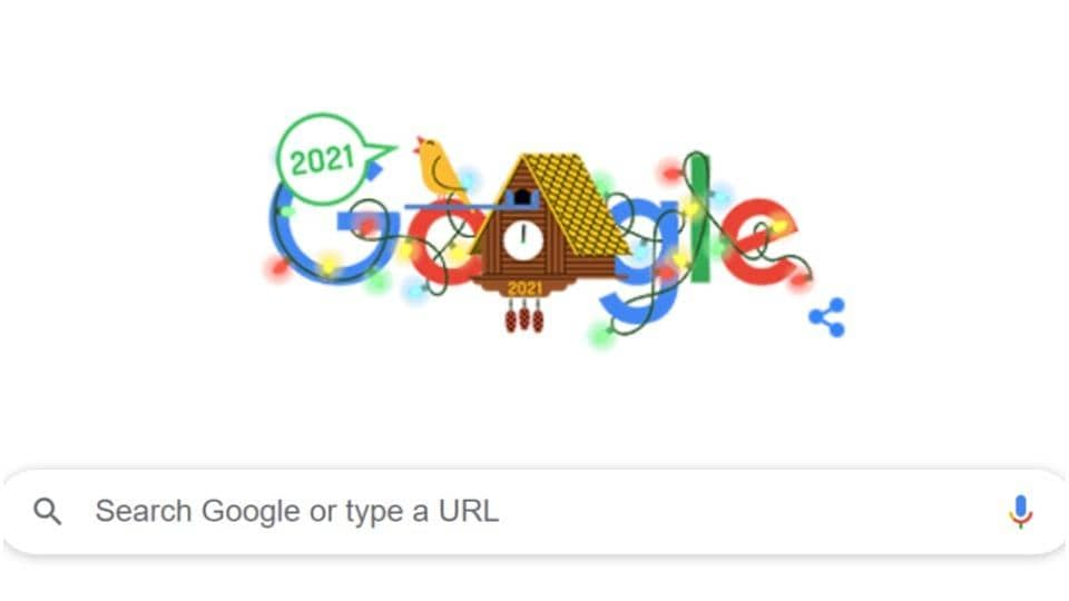Google shares new doodle