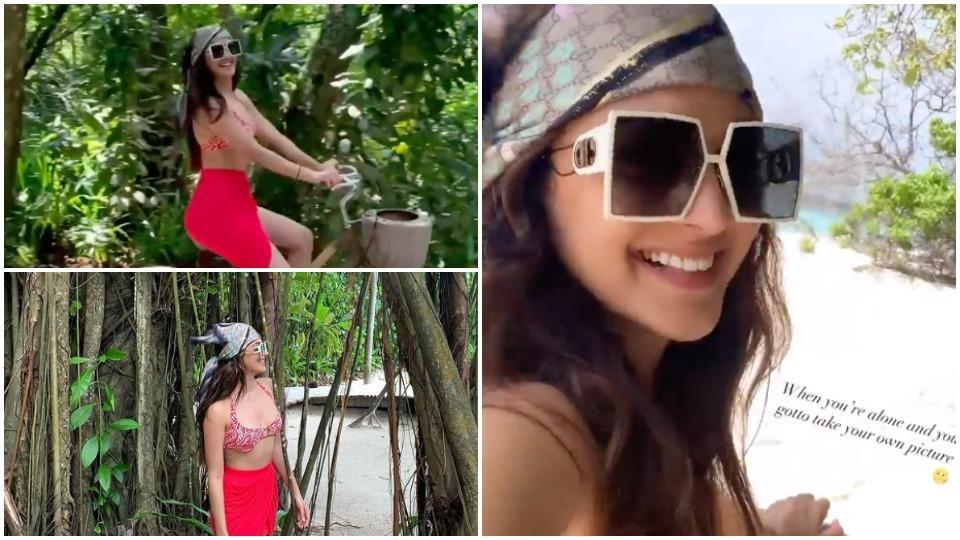 Kiara Advani is in Maldives