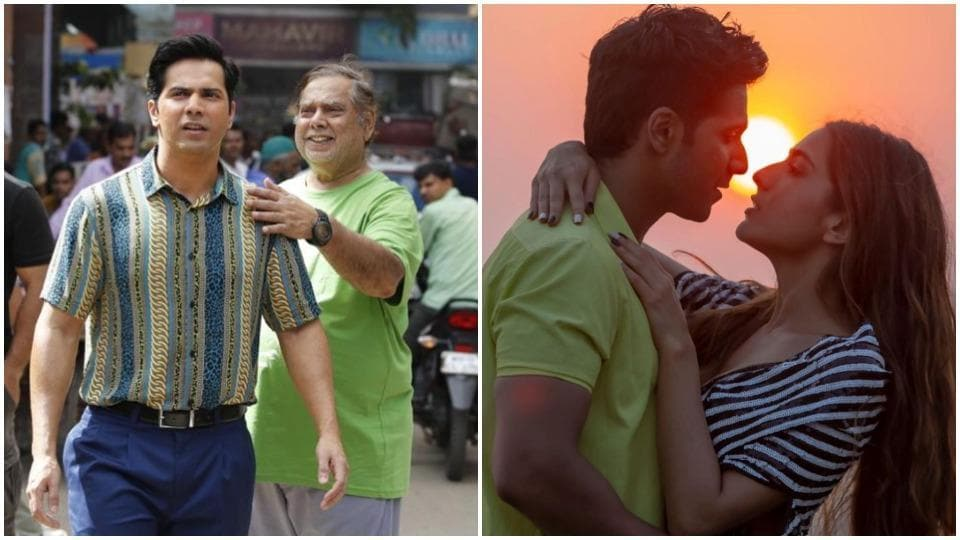 Varun Dhawan and Sara Ali Khan were directed by David Dhawan in Coolie No 1