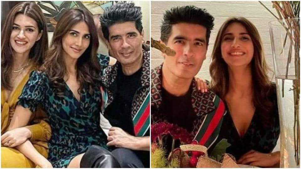 VaaniKapoor is a stunner in wrap dress and boots