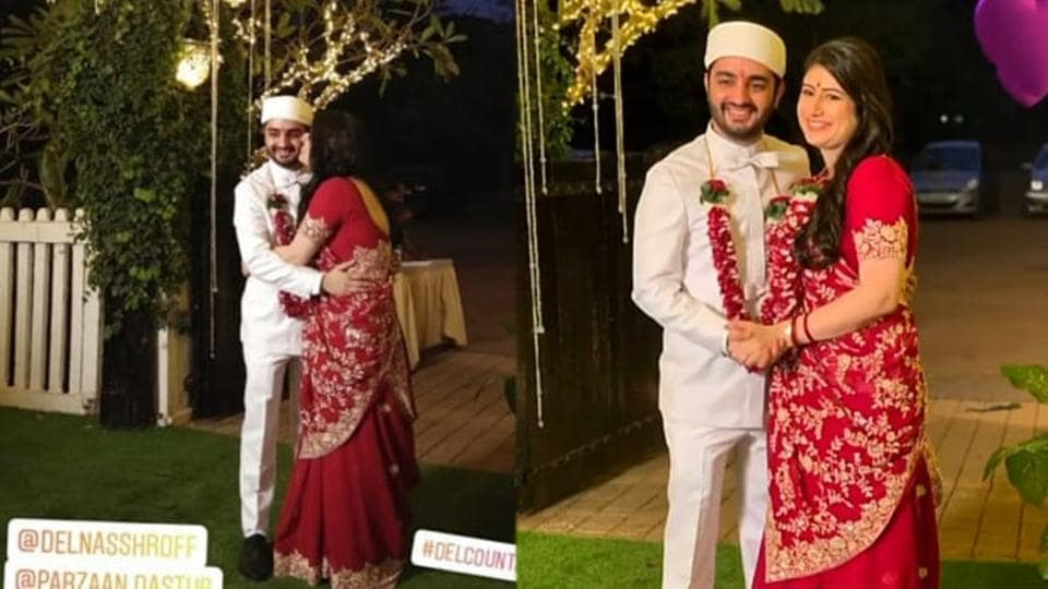 Parzaan Dastur and Delna Shroff are now married.