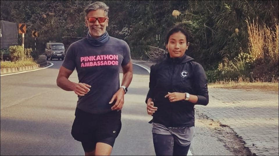 Milind Soman and Ankita Konwar redefine fitness-couple goals in this video of their 70km long run