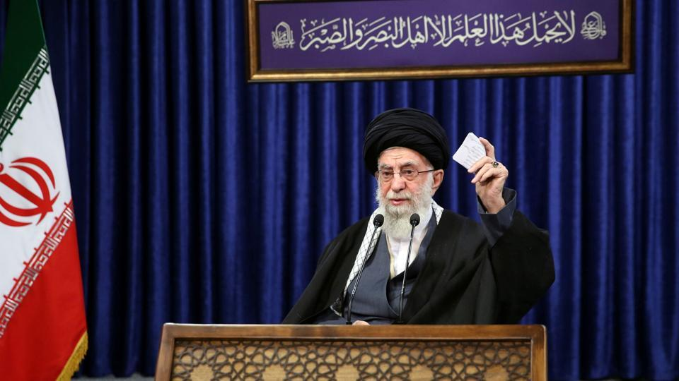 Iran's Khamenei prohibits import of Covid -19 vaccines from United States, UK, requires withdrawing of sanctions