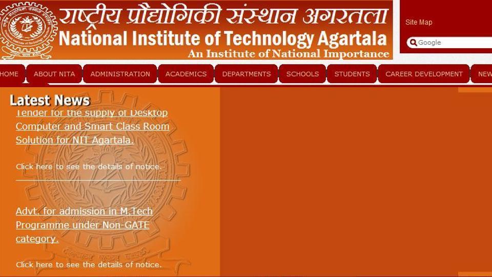 Tripura IIIT,Tripura IIIT academic session,Tripura