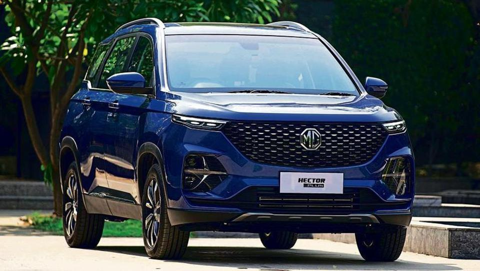 Hector Plus is a six-seater sports utility vehicle (SUV) with a price tag of Rs 13.48-18.53 lakh.