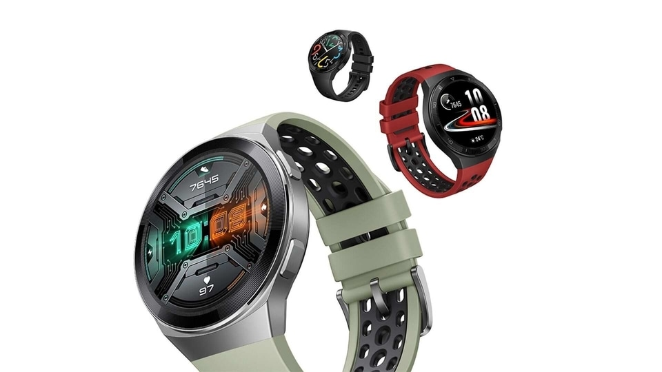 Huawei Watch GT 2e comes in four colour options of Graphite Black, Lava Red, Mint Green and Icy White.