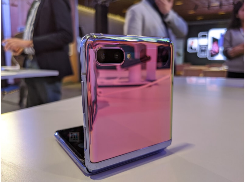 The Z Flip comes with an Infinity Flex Display featuring Samsung's foldable Ultra Thin Glass (UTG) and a hideaway hinge that the company claims is the smallest they have made so far.