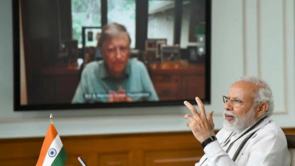 In the meeting, Gates and Modi agreed upon the fact that it was important for New Delhi to be a part of the global discussions regarding the pandemic