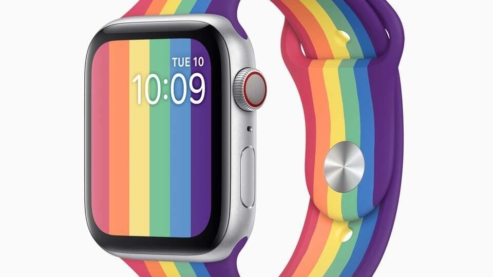 This year, Apple has come up with the Pride Edition Sport Band and has been joined for the first time by the new Apple Watch Nike Pride Edition Sport Band.