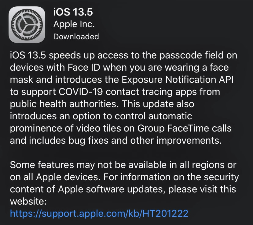 Apple Update Alerts When Someone With Covid-19 Is Near