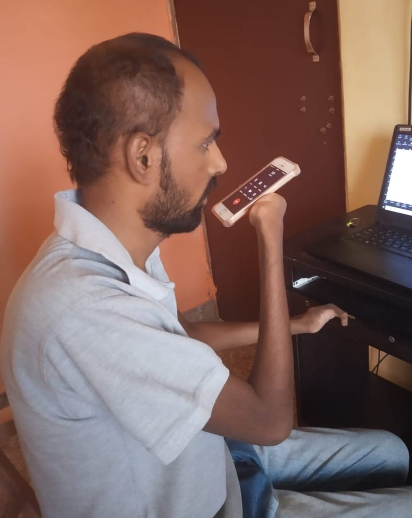 Narendra VG, currently working with Enable India, hopes that eventually accessibility settings for multiple disabilities can be packaged together.