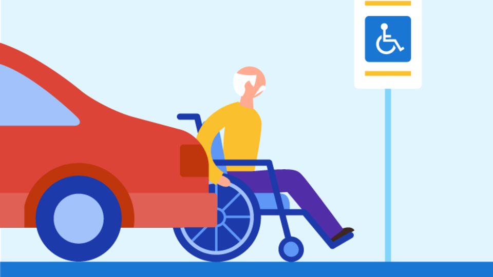 Google Maps shows wheelchair accessibility support