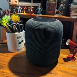 Apple will tell you, with scientific jargon, why and how the HomePod sounds as good as it does (spatial awareness, seven tweeters etc), but it's more a feeling than just tech.