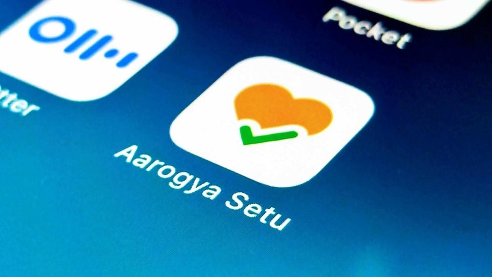 Aarogya Setu app.