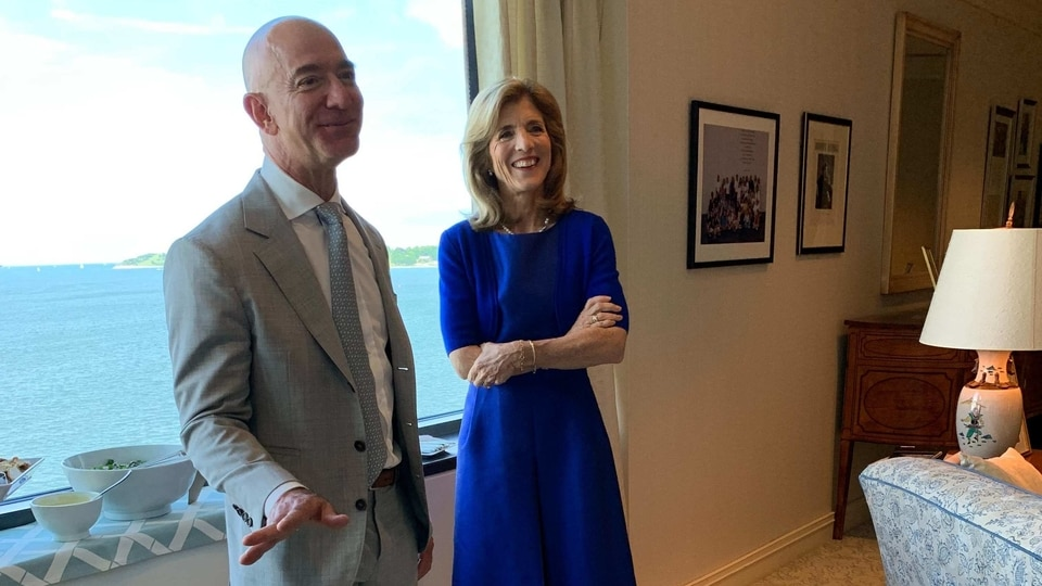 Jeff Bezos reveals investment in United Kingdom digital freight firm Beacon