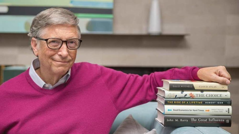 "These are books that Gates has read himself and is recommending to others - ""Whether you're looking for a distraction or just spending a lot more time at home, you can't beat reading a book""."