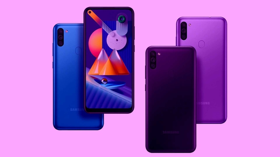 Samsung Galaxy M11, M01 budget phones launched in India: Check price, specs