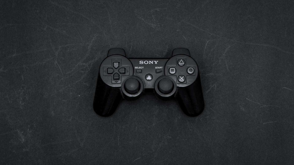 Sony PlayStation console.