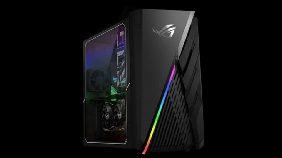 Asus ROG GA15 desktop is powered by the AMD Ryzen 7 3700X processor.