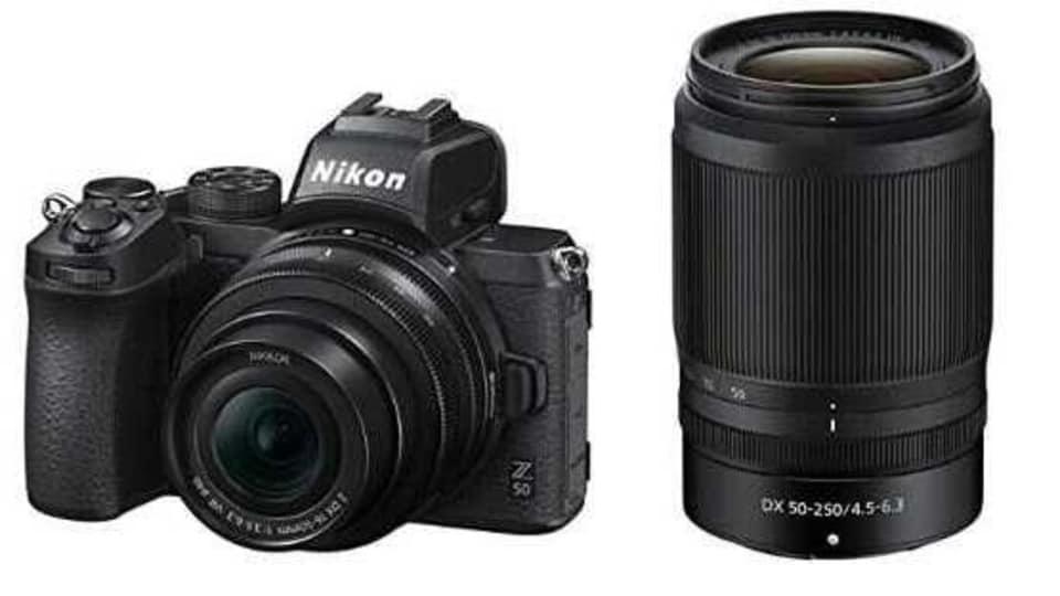 The kit includes the Nikon Digital camera Z50.