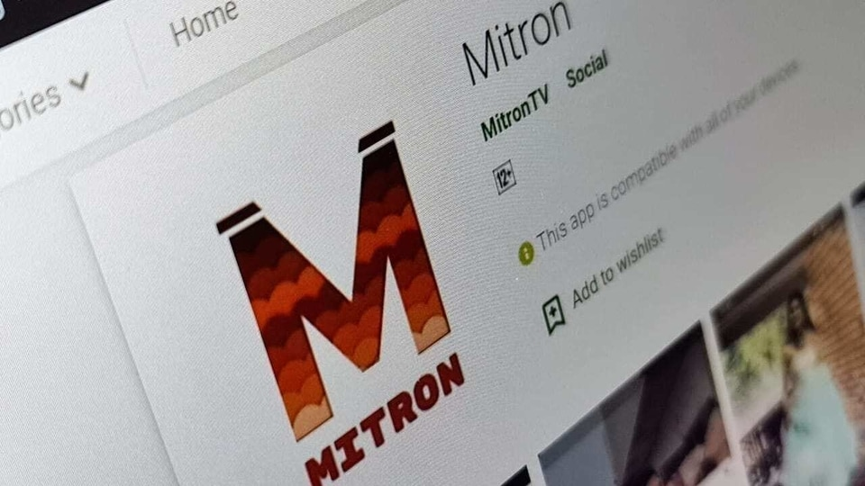 Mitron App listing on Google Play Store