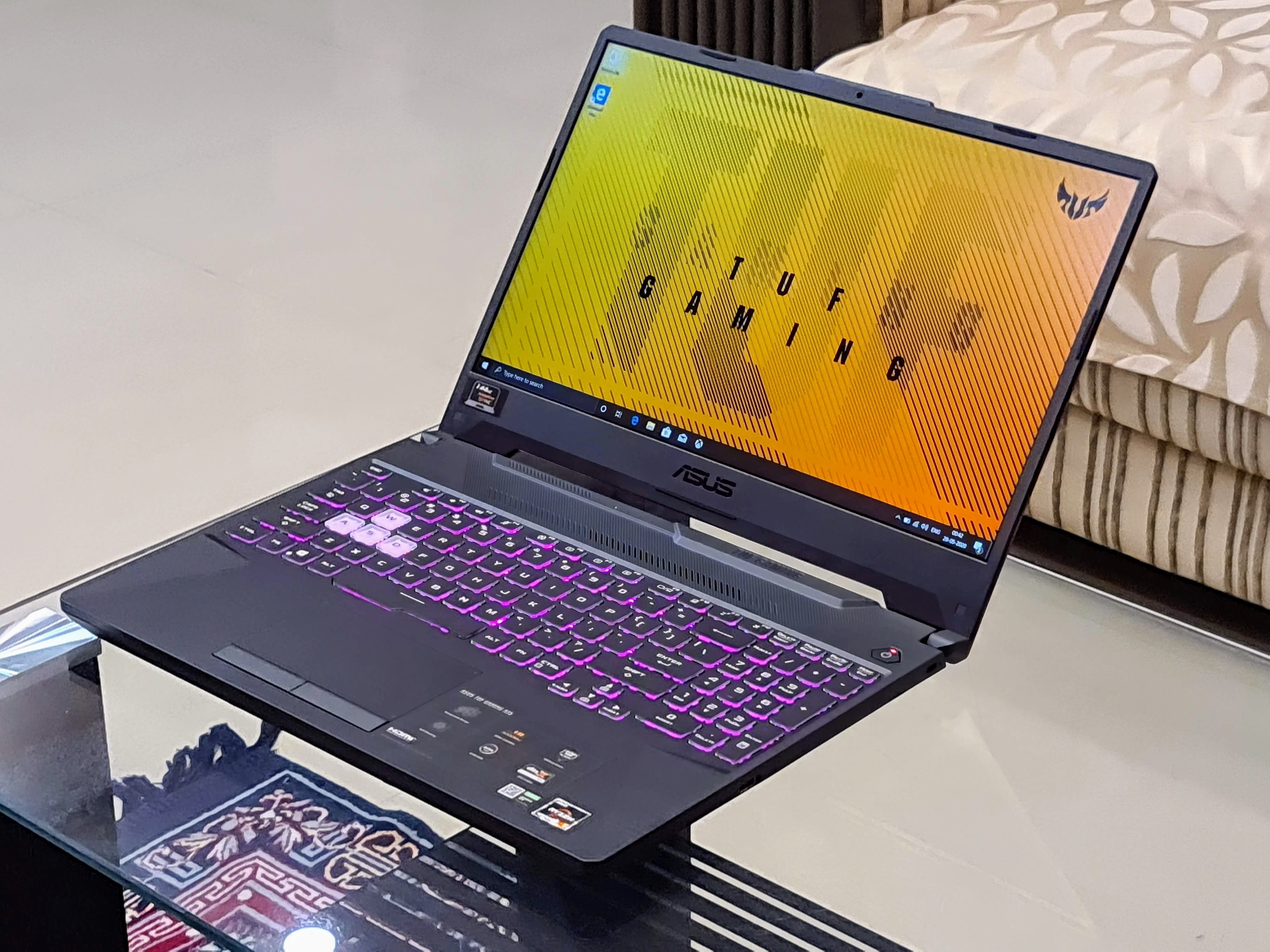 Launched in India at  <span class='webrupee'>₹</span>60,990, the Asus TUF A15 is the newest gaming laptop in the market.