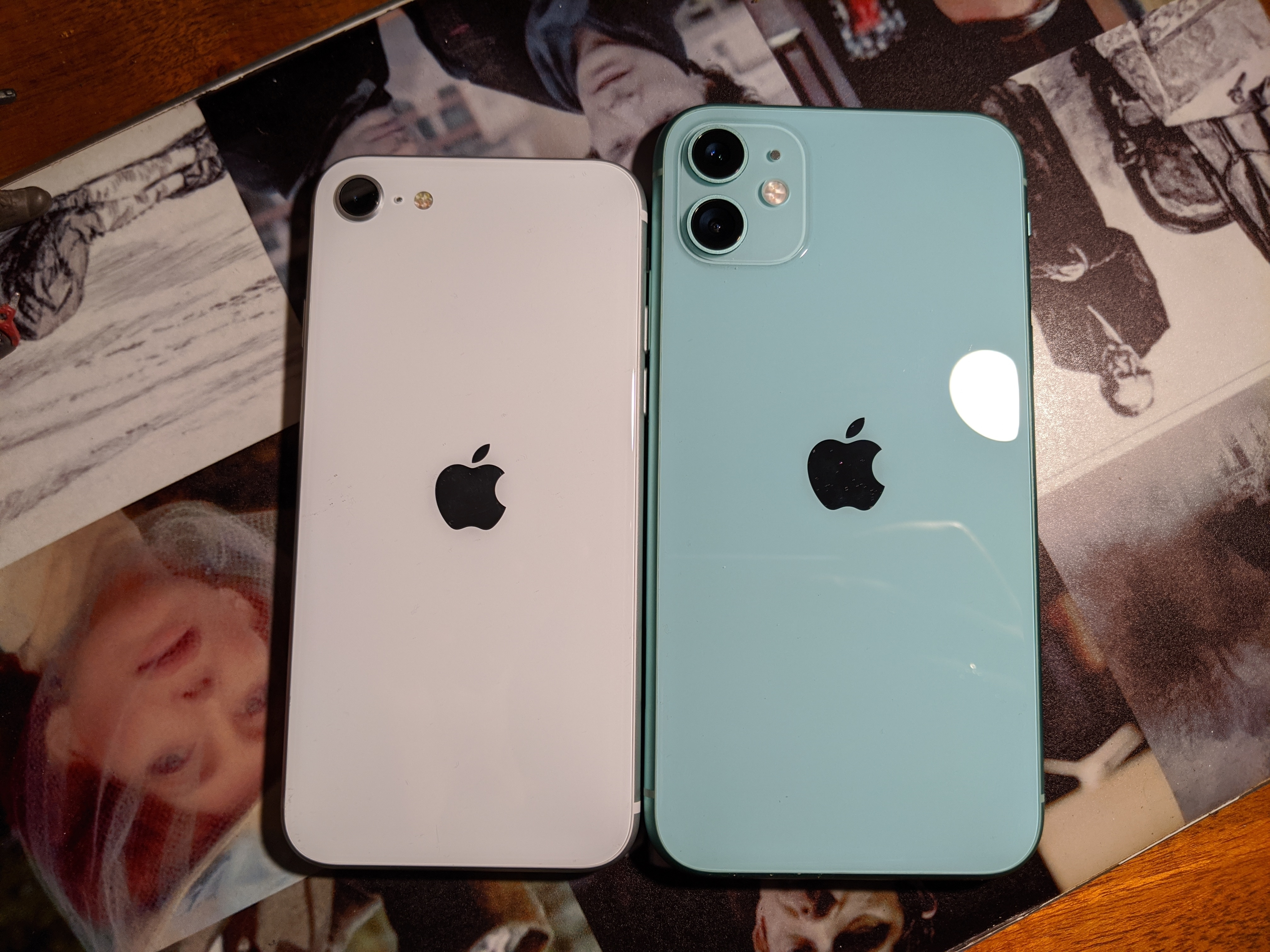 That's how small the iPhone SE is as compared to the iPhone 11.