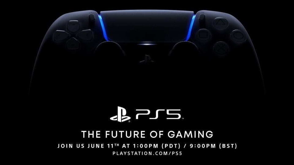 Sony PS5 event rescheduled to June 11.