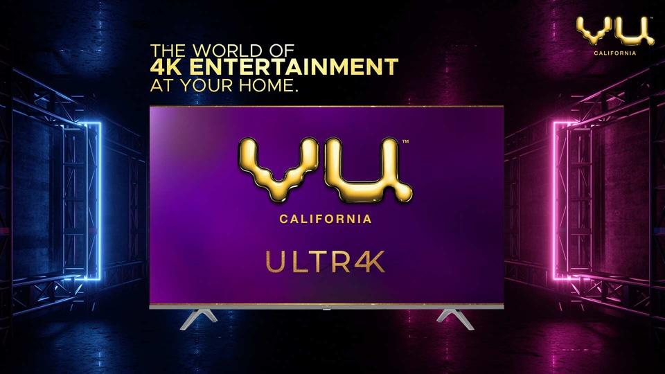 VU Ultra-edge 4K TVs
