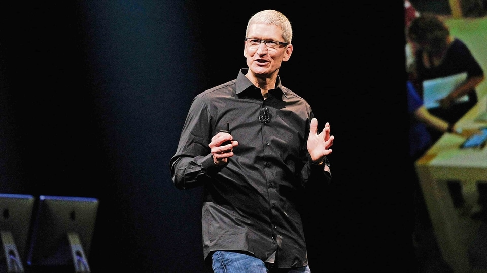 """""""The burden of change must not fall on those who are underrepresented,"""" said Apple CEO Tim Cook."""