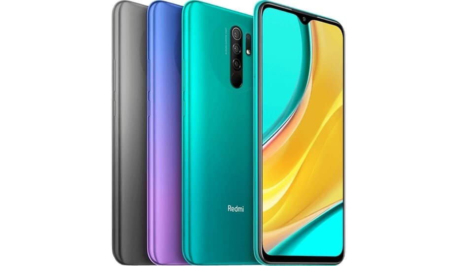 Xiaomi Redmi 9 comes in three colour options.
