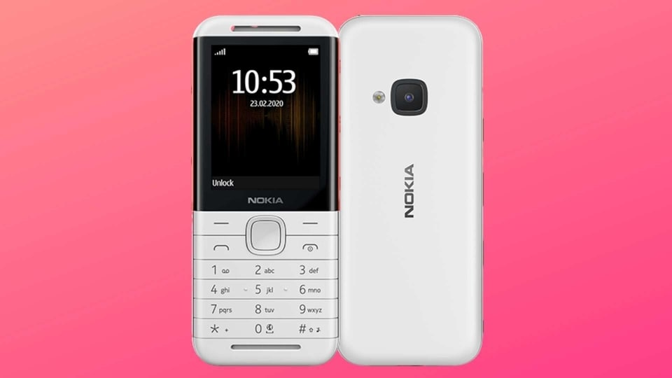 Nokia 5310 feature phone comes in two colour options.