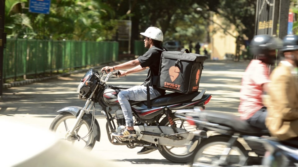 FMCG firms have joined hands with delivery platforms such as Swiggy to ensure that their goods keep moving.mint