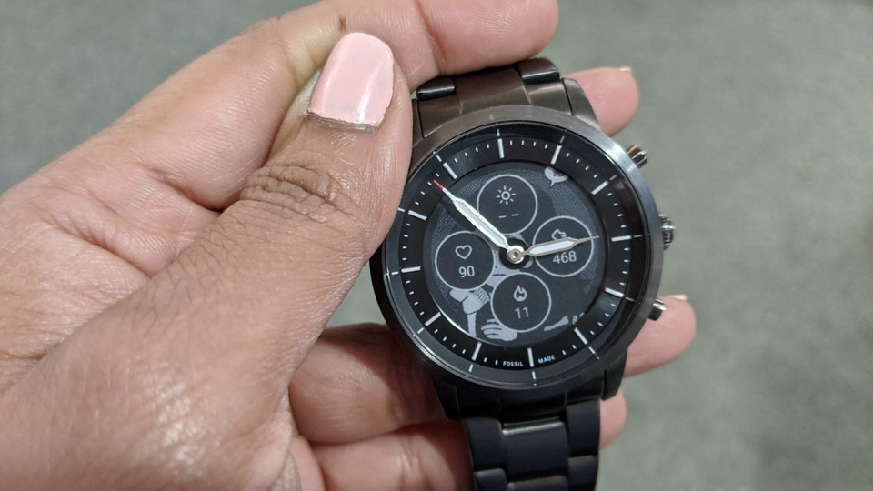 The Fossil Hybrid HR is a premium watch with some smart features. If you're looking for a feature-rich smartwatch forget about this one.
