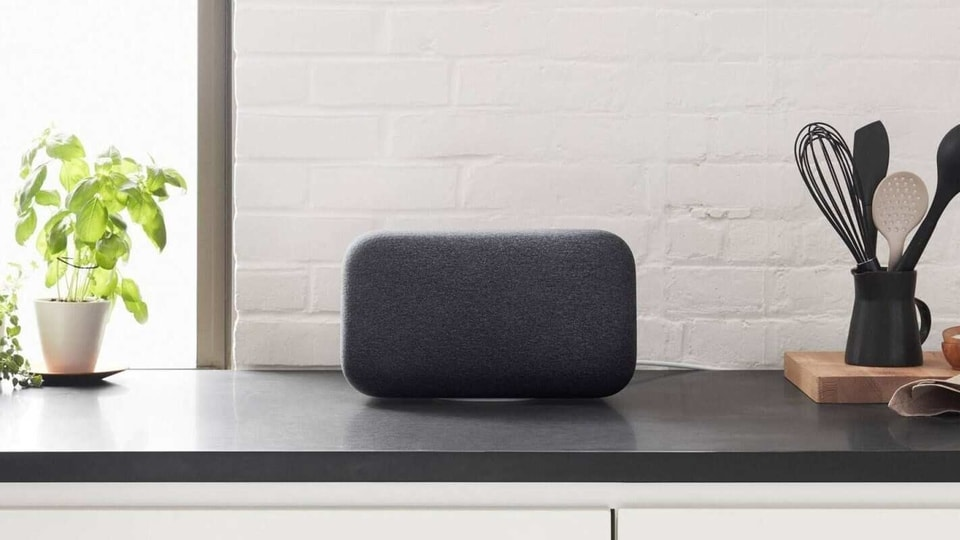 There aren't too many details out about this new Nest-branded speaker as yet except that its internal codename is 'prince'. Speculations suggest that it might be a reference to the late musician. (This is a photo of the Google Home Max and not the new speaker)